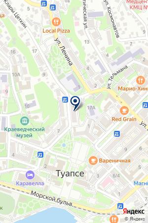 РЕДАКЦИЯ ГАЗЕТЫ МОЙ ТУАПСЕ на карте Туапсе