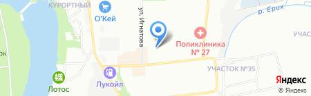 Детский сад №183 Рябинка на карте Краснодара