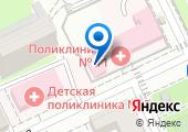 Городская поликлиника №11 на карте