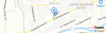 Автолидер на карте Краснодара
