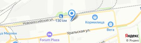 КубаньПожСервис на карте Краснодара