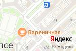 Схема проезда до компании РосПечать в Туапсе