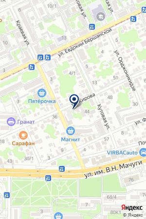 СТРОИТЕЛЬНАЯ ФИРМА МАГИСТРАЛЬ-СЕРВИС на карте Краснодара