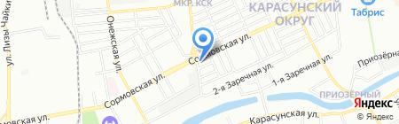 Монстр Хай на карте Краснодара