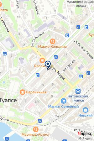 ФОТОЛАБОРАТОРИЯ КОДАК на карте Туапсе