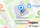 Краснодарский техникум управления информатизации и сервиса на карте