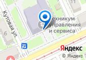 Краснодарский техникум управления, информатизации и сервиса на карте