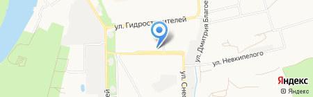 Мясолюбов на карте Краснодара