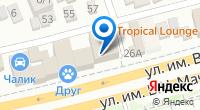 Компания Раковая №1 на карте
