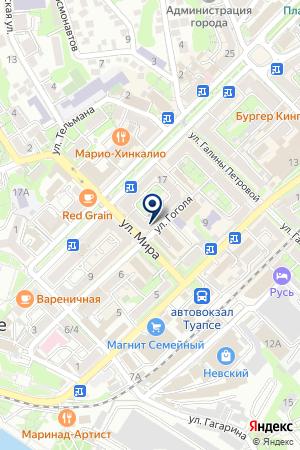 МЕБЕЛЬНЫЙ МАГАЗИН ПОГРЕБОК на карте Туапсе