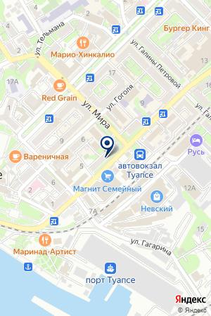 АПТЕКА КОРОСТЕЛЕНКО М. Е. на карте Туапсе