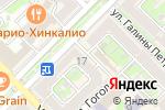 Схема проезда до компании Драгоценности Урала в Туапсе