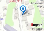Архитектурно-градостроительный центр Туапсинского района, МУП на карте