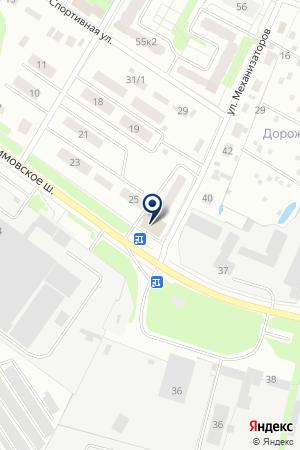 КОЛОСОК на карте Егорьевска