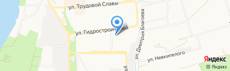Детский сад №190 на карте Краснодара