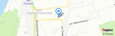 Магазин чая на ул. Невкипелого на карте Краснодара
