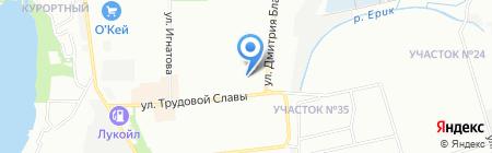 Детский сад №179 Дюймовочка на карте Краснодара