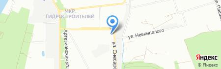 Миа на карте Краснодара