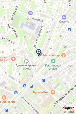 АГЕНТСТВО НЕДВИЖИМОСТИ ВЕСТА на карте Туапсе