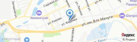 Алиса на карте Краснодара