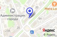 Схема проезда до компании КИНОЦЕНТР ТАЙМ ШОУ в Туапсе