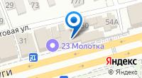 Компания Атера на карте