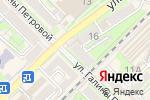 Схема проезда до компании Kivi в Туапсе