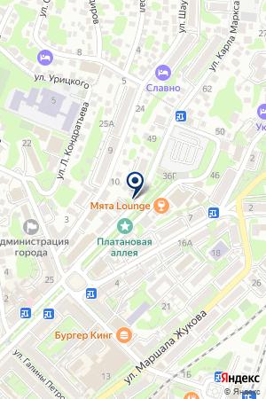 АГЕНТСТВО НЕДВИЖИМОСТИ ЛИДЕР на карте Туапсе