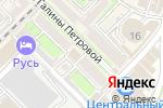 Схема проезда до компании АПРЕЛЬ в Туапсе