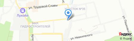 Светлана на карте Краснодара