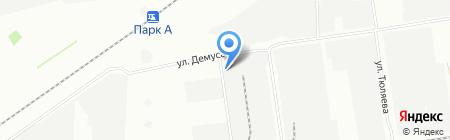 Армада на карте Краснодара