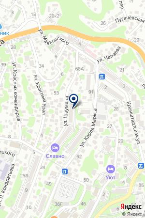 БЕЛЫХ И.М. НОТАРИУС на карте Туапсе