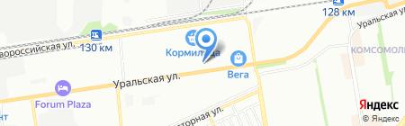 БРК Трэйд на карте Краснодара