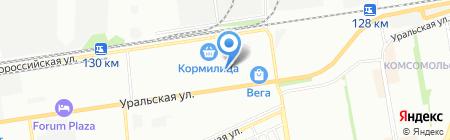 Divo на карте Краснодара