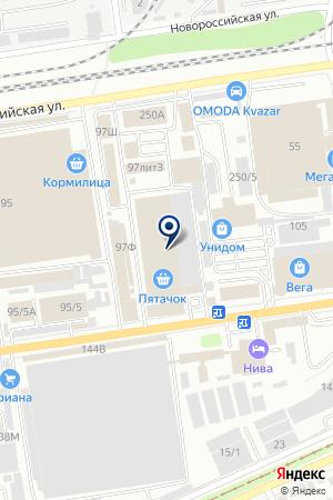 МАГАЗИН ПОСУДЫ РЕСТОРАН-СЕРВИС на карте Краснодара