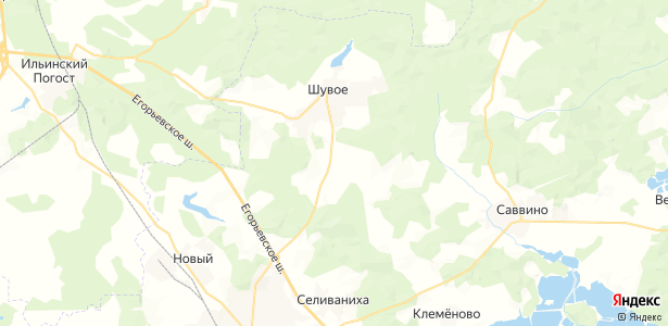 Курбатиха на карте