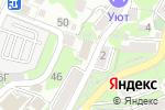 Схема проезда до компании ЧерноморТИСИЗ в Туапсе