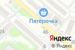 Схема проезда до компании Киоск по продаже лотерейных билетов в Воронеже