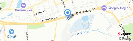 Семком на карте Краснодара