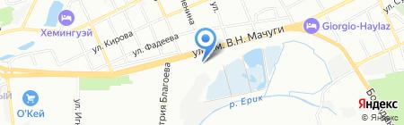 АвтоТехнологии на карте Краснодара