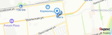 Мега Мастер на карте Краснодара