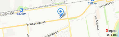 ЮГ ТОЙЗ на карте Краснодара