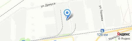 Трансхимсервис на карте Краснодара