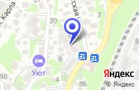 Схема проезда до компании ПТФ МЕДТЕХ в Туапсе