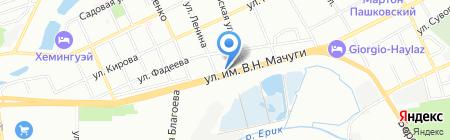 КиА на карте Краснодара