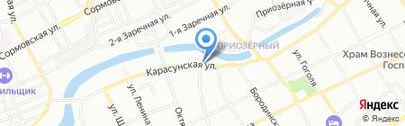 ДжинАвто на карте Краснодара