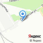 Меркурий на карте Воронежа