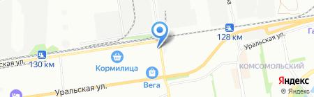 Машстройинсервис на карте Краснодара
