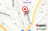 Схема проезда до компании Эксперт-Сервис в Туапсе
