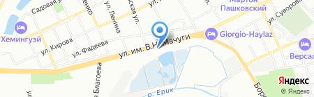 Ars на карте Краснодара